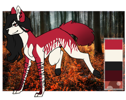 Canine Adoptable AUCTION (CLOSED) by Tenshieyes