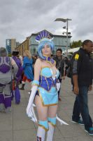 MCM Expo 2013 Blue Rose by Lady-Avalon
