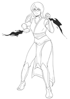 WIP Draw Me Series: Legend of Korra by Kiniki-Chan