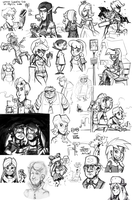 Sketch dump #18 by TheArtrix
