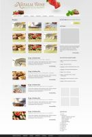 Culinary blog design by colorlabelstudio