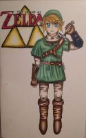 Twilight Princess Link by TealEevee15