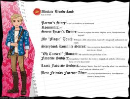 Ever After High - Alistair Wonderland's Full Bio by cjlou-the-bejeweler