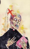 Zombie Priest by hubie-the-cat