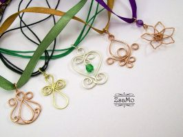 Pendants by Zsamo