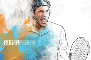 Federer - The Legend by Ludwig1300