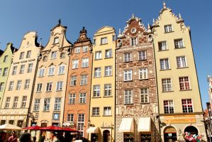 Buildings of Gdansk by MadKatherine