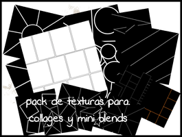 pack de texturas para collages y mini blends by hire123