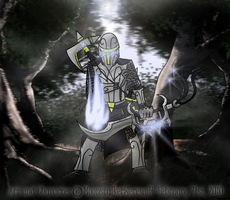 Templar Knight: Lord Oromir by MoonstalkerWerewolf
