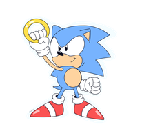 Sonic CD style by Domestic-hedgehog