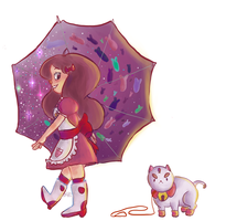 Bee and Puppycat by Teise
