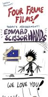 Four Frame Films: Edward Scissorhands by RomanJones