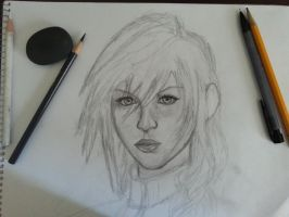 Lightning Final Fantasy ( in progress) by VanishedReality