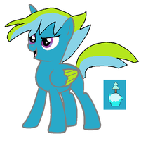 Frosthoof as an adult (alicorn version) by Darksonicboom