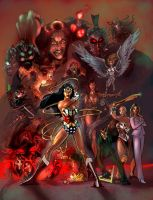 Wonder Woman Villains - draft by timothylaskey