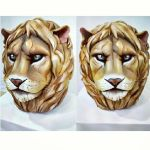 ~Lion Head Sculpture~ by laurenrox5