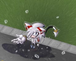 A.T. Draco in the rain by skestar