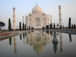 Taj Mahal India by babsartcreations
