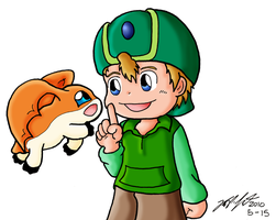 Digi01 - Takeru and Patamon by mdchan