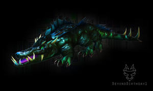 Epic Crocolisk by BeyondBirthday1