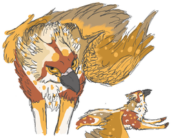 Gryphon by Fae-Puppy