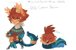 Shilo Sketches by Cogarii