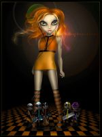 Orange Girl by BigBad-Red