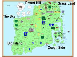 Mario Map: Western Continent by DJmadflava