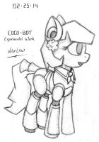 2014-02-25-Cocobot, Experiment by Valorcrow
