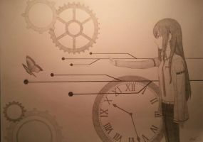 Steins Gate - Butterfly effect by SparrowHawkz
