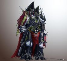 Night Lords Chaos Raptor by Solomon-Mordecai