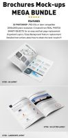 Photorealistic Brochure Mockups Bundle by andre2886