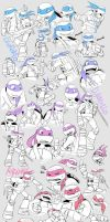 TMNT:Doodle by YU0330