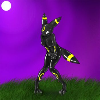 May's Latex Umbreon Suit 2 by Fox0808