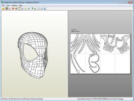 Pepakura Spiderman Face Shell by Gimpe