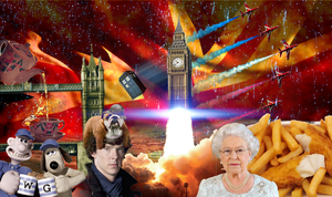 Most English Wallpaper Ever by TheModerator