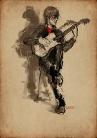 While My Guitar Gently Weep by solitarium