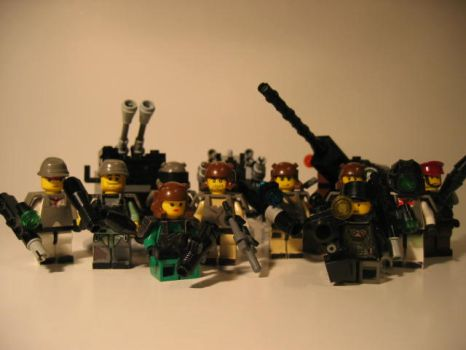 Global Conflict-Minifigures by McbobJoe