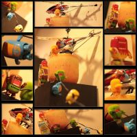 Daring Domo helicopter resuce by bluedogsd