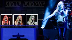 Avril Lavigne Live 2014 by FunkyCop999