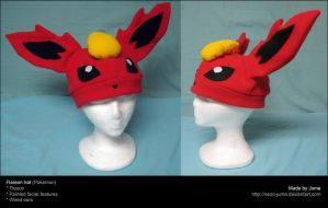 Flareon hat 3 by Neon-Juma