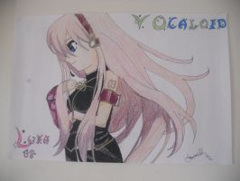 LUKA~ by my awesome friend ^^ by Papillon-P