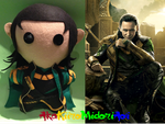 Marvel Plushes: Loki by AkaKiiroMidoriAoi