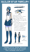 Profile: Sailor Star Mercury by crystalAlluvion