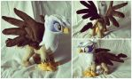 Gilda the griffon My Little Pony plush by KetikaCraft