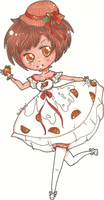STS: Creme Tangerine Colored by PumpkinPanties