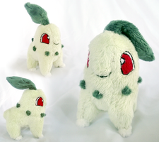 Chikorita Mini Plush by xSystem
