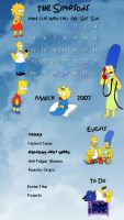 the simpsons by violetfantasy