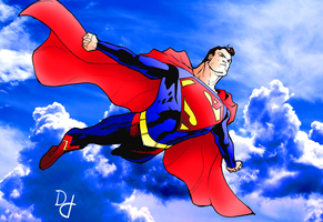 The Man of Steel by portfan