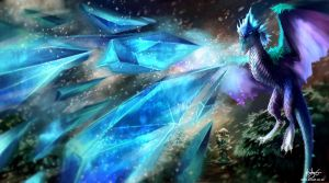 Winter Wyvern by kovah